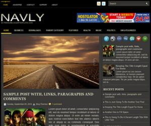 Navly-Blogger-Template