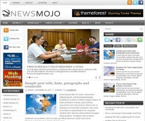 NewsMojo-Blogger-Template