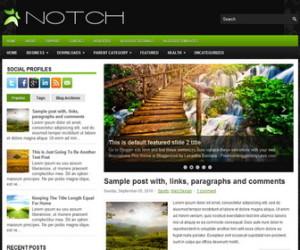 Notch-Blogger-Template