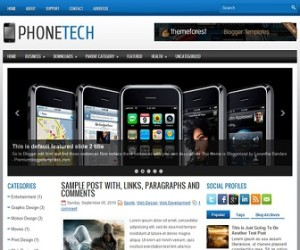 PhoneTech-Blogger-Template