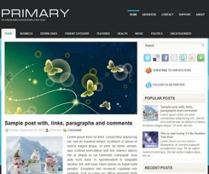 Primary-Blogger-Template