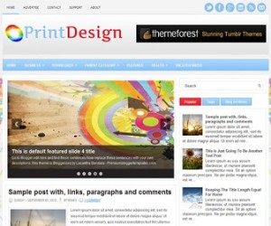 PrintDesign-Blogger-Template