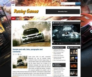 Racing-Games-Blogger-Template