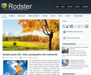 Rodster-Blogger-Template
