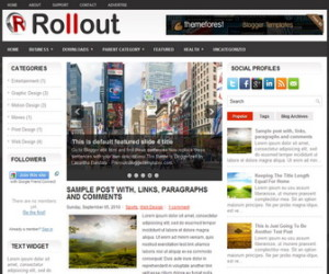 Rollout-Blogger-Template