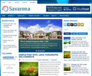 Savarona-Blogger-Template