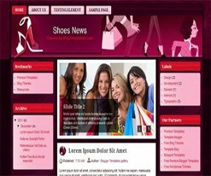 Shoes-News-blogger-templates