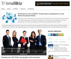 SmallBiz-Blogger-Template