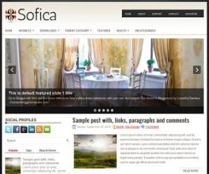 Sofica-Blogger-Template