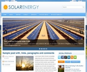 SolarEnergy-Blogger-Template