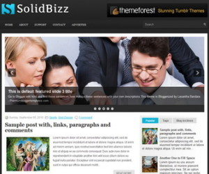 SolidBizz-Blogger-Template