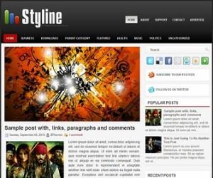 Styline-Blogger-Template