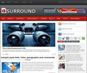 Surround-Blogger-Template