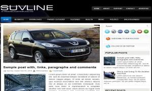 SuvLine-Blogger-Template