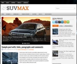 SuvMax-Blogger-Template