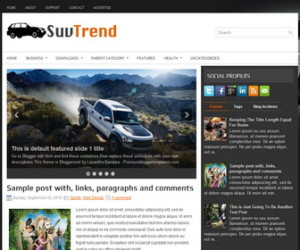 SuvTrend-Blogger-Template