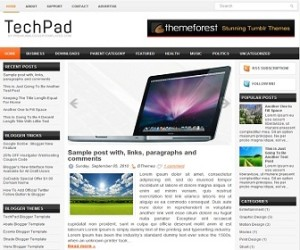 TechPad-Blogger-Template