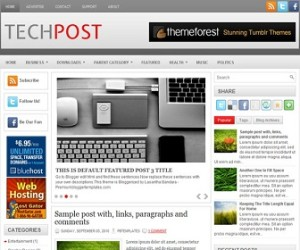 TechPost-Blogger-Template