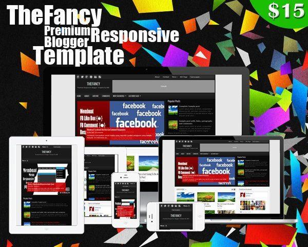 TheFancy Premium Responsive Blogger Template