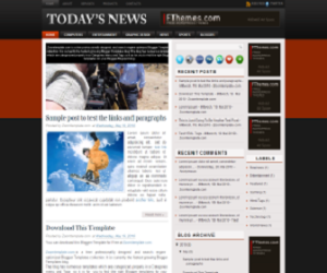 Todays-News-Blogger-Template