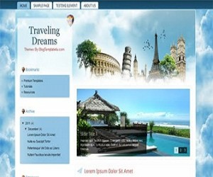 Traveling-Dreams-blogger-templates