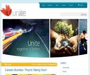 Unite-blogger-template