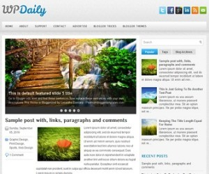WPDaily-Blogger-Template