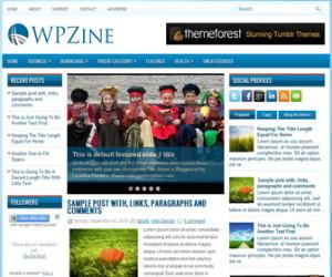 WPZine-Blogger-Template