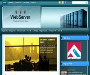 WebServer-Blogger-Template