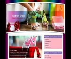 Women-Shoes-blogger-templates