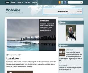 Worldwide-Blogger-Template