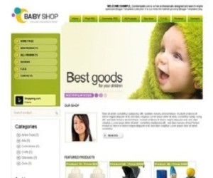 baby-shop-Blogger-Template