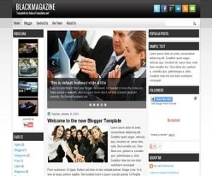 blackmagazine-blogger-template