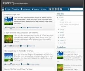 bluebuzz-blogger-template