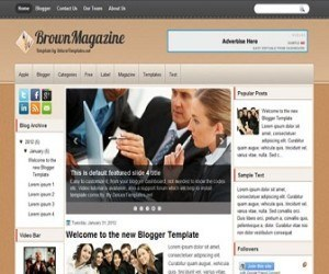 brownmagazine-blogger-template
