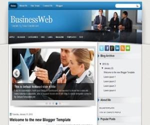 businessweb-blogger-template
