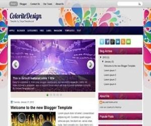 coloritedesign-blogger-template