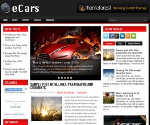 eCars-Blogger-Template