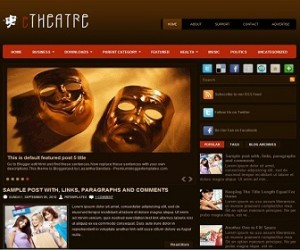 eTheater-Blogger-Template