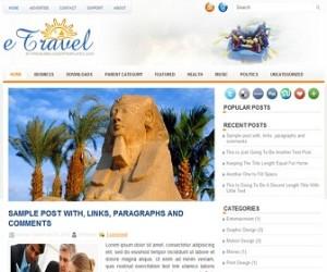 eTravel-Blogger-Template