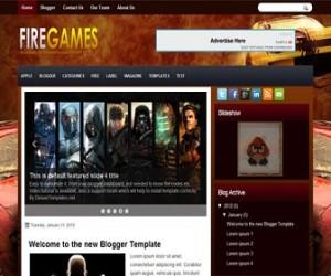 firegames-blogger-template