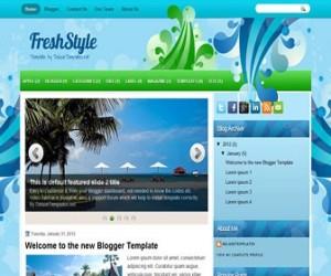 freshstyle-blogger-template