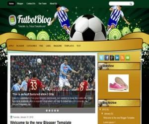 futbolblog-blogger-template