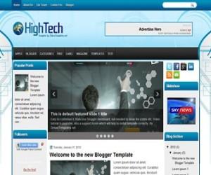 hightech-blogger-template