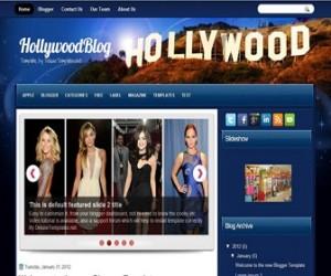 hollywoodblog-blogger-template
