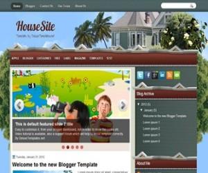 housesite-blogger-template