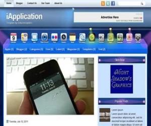 iApplication-Blogger-Template