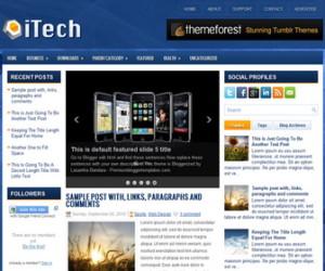 iTech-Blogger-Template