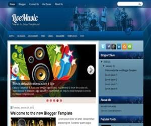 livemusic-blogger-template