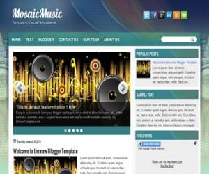 mosaicmusic-blogger-template